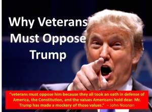 Veterans Oppose Trump